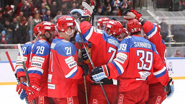 Смотреть онлайн Хоккей Чемпионат мира 2018 Россия 4-0 Словакия прямая трансляция