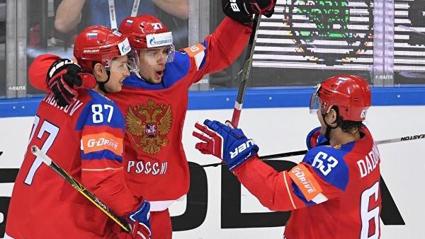 Смотреть онлайн Хоккей Чемпионат мира 2018 Россия 1-3 Швеция прямая трансляция