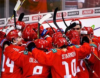 Болеем за Россию на Чемпионате Мира в Словакии!